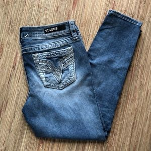 Vigoss Chelsea skinny cropped jeans